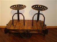 adjustable tractor stool