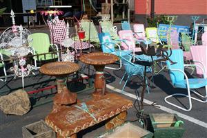 Garden Art And Outdoor Furniture In Atlanta Kudzu Antiques - Patio furniture atlanta 2