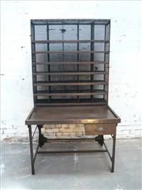 industrial postman desk