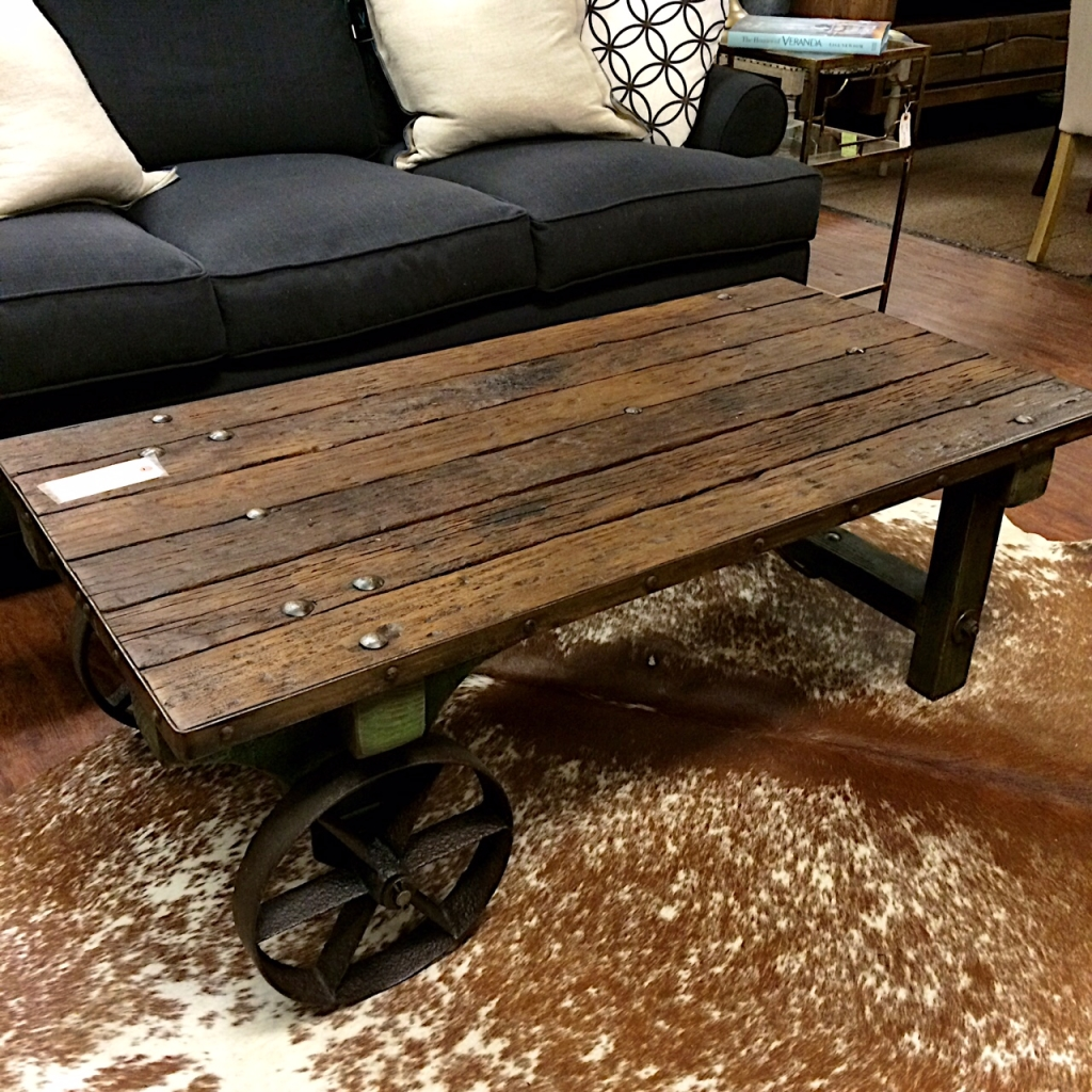 Mill Cart Coffee Table Super Gifts For Super Dads At Kudzu Kudzu Antiques