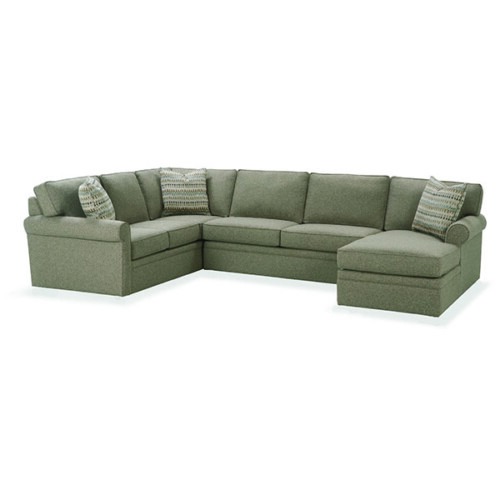 Attirant Brentwood Sectional By Rowe Furniture