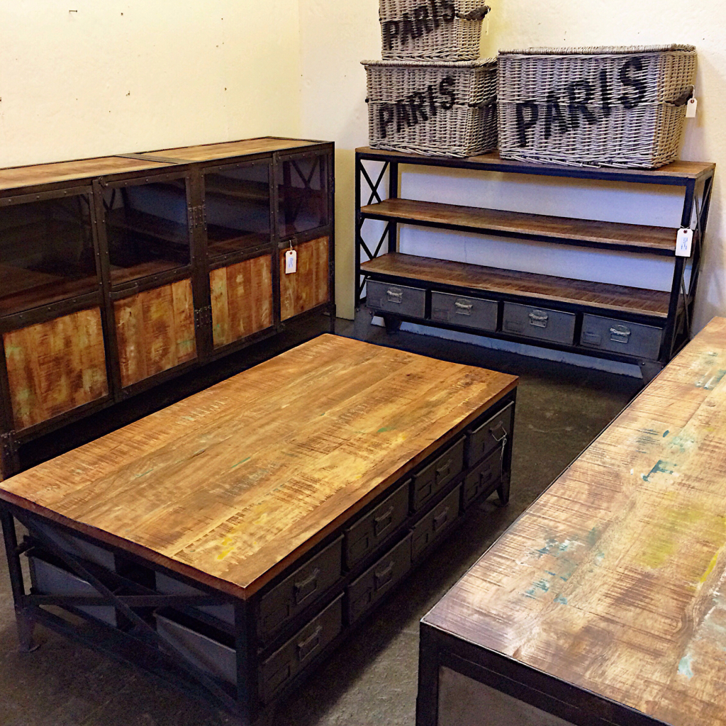 Just In: New Industrial Furniture from India – Kudzu Antiques