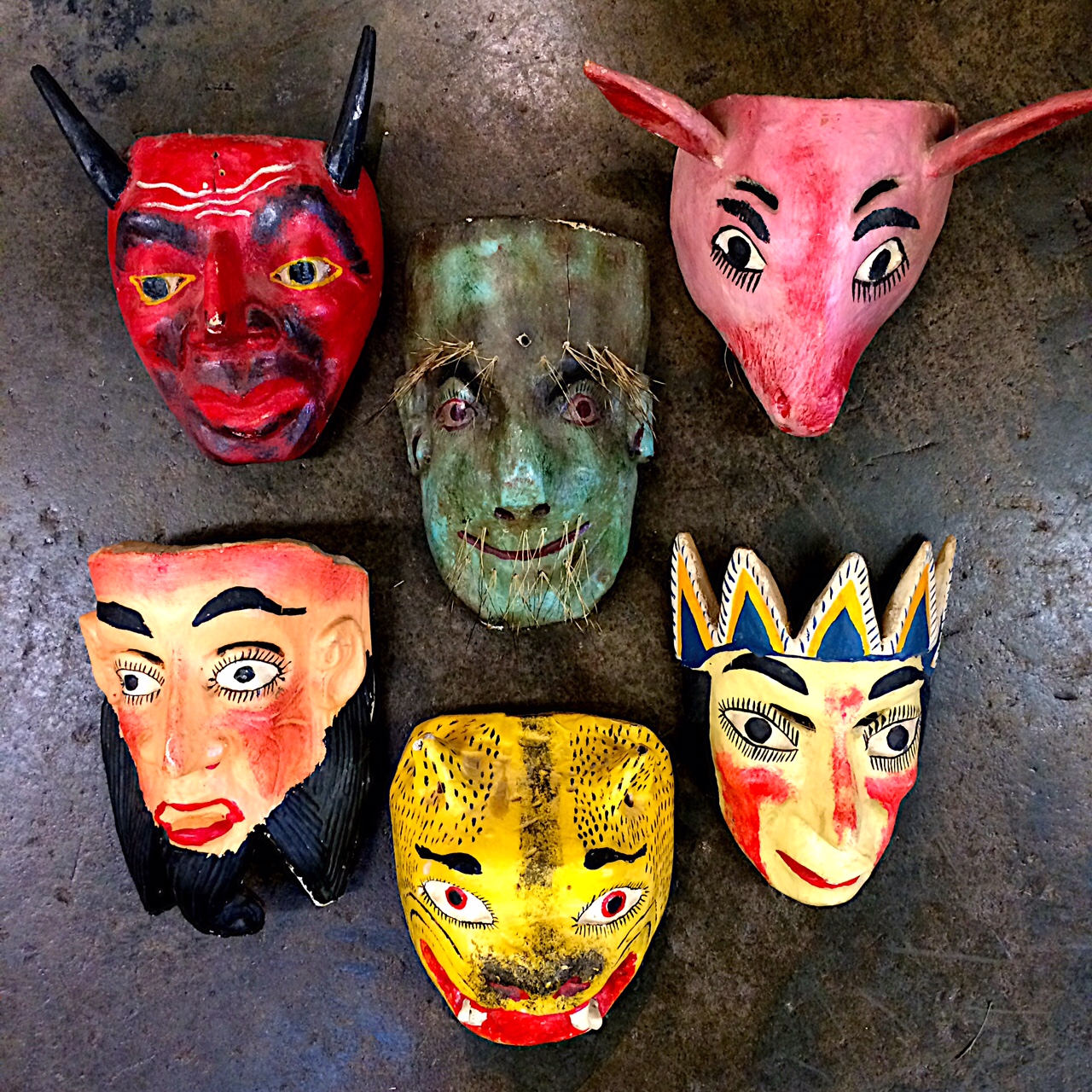 Mexican Masks!