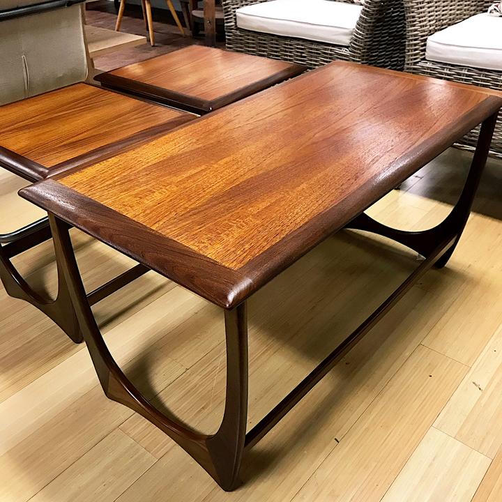 Gorgeous G Plan Nesting Coffee Table Set