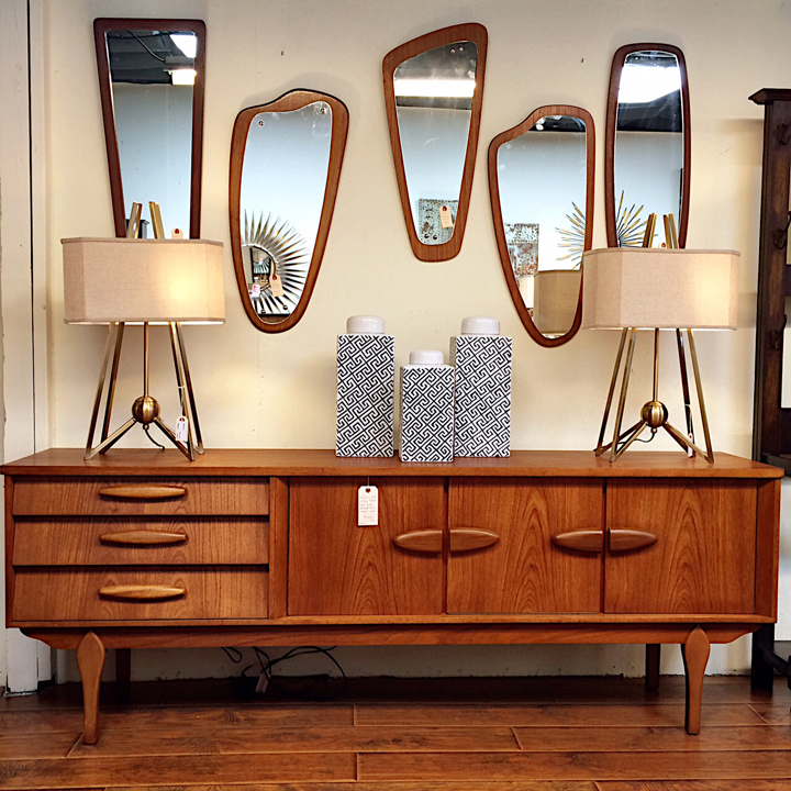 At Kudzu Antiqueodern You Will Find One Of The Best Selections Mid Century Furniture And Accessories In Atlanta We Scour Not Only Metro