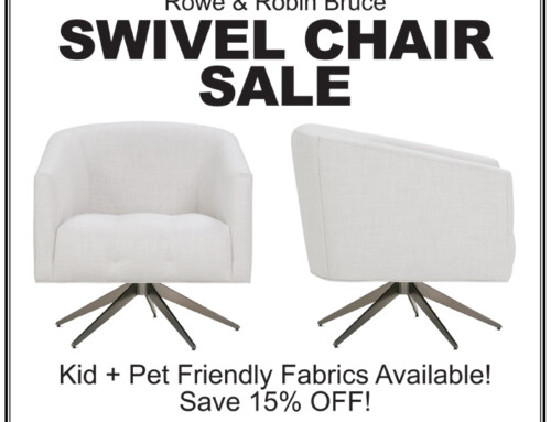 Rowe/Robin Bruce Swivel Chairs On Sale!