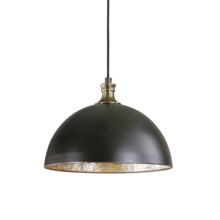Industrial Metal Dome Pendant Light Kudzu Antiques