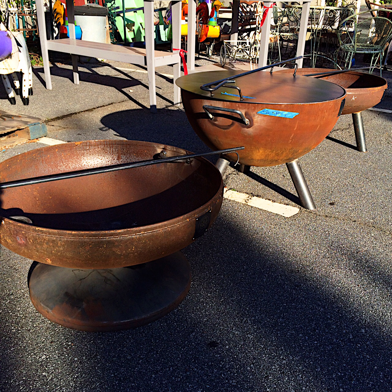 Steel Fire Pit Ring