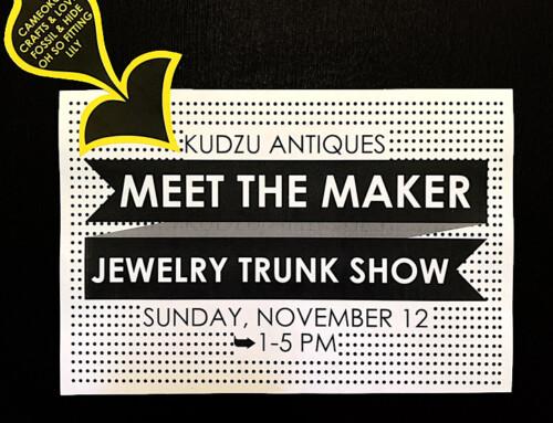 """""""Meet The Maker"""" Handmade Jewelry Trunk Show"""