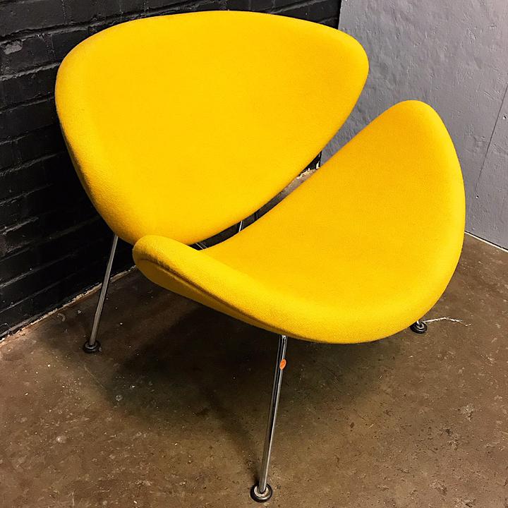 ... Orange Slice Chair By Pierre Paulin. ; 