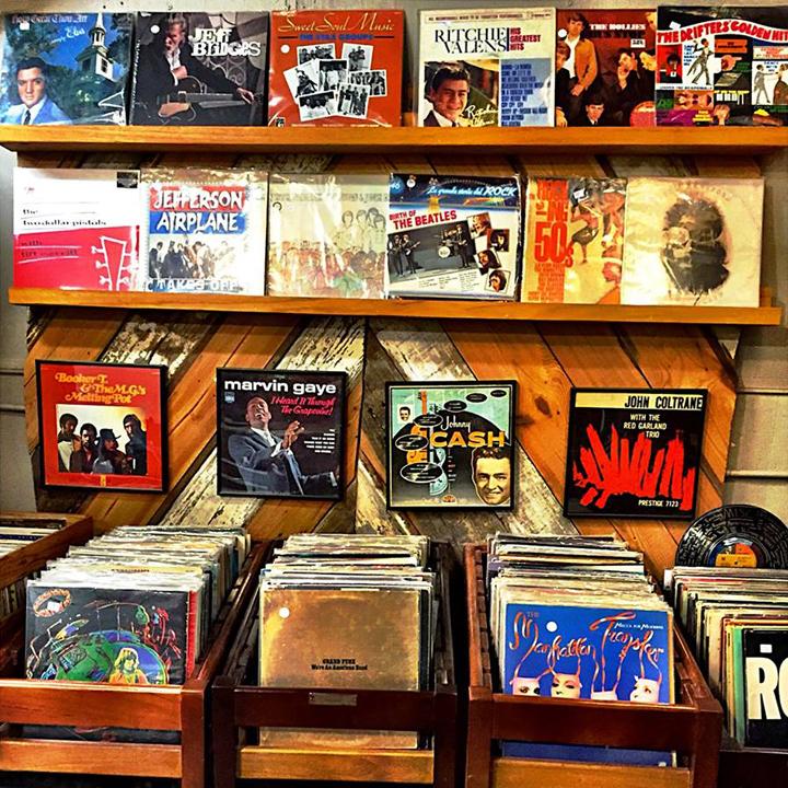 Records Kudzu Antiques