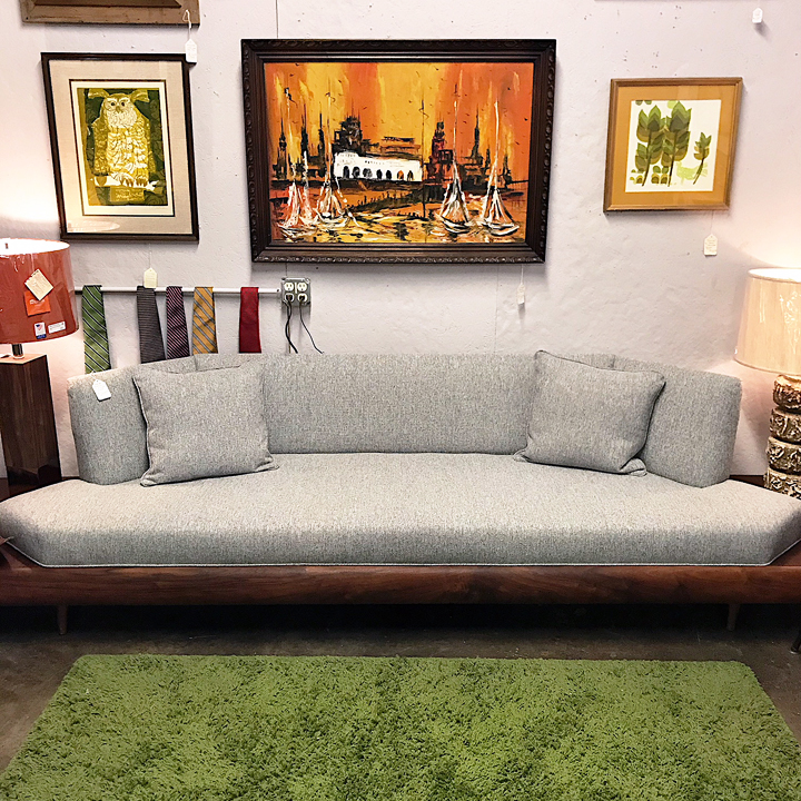 Groovy Beautiful Adrian Pearsall Platform Sofa Caraccident5 Cool Chair Designs And Ideas Caraccident5Info