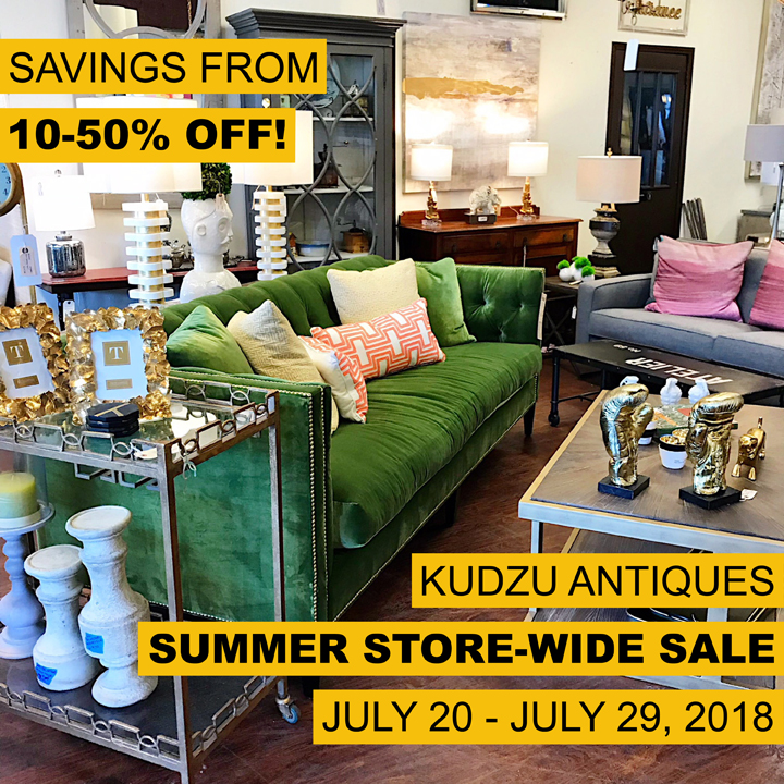 Kudzu's Summer Store-Wide Sale