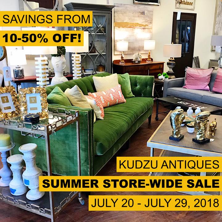 Kudzu's Summer Store-Wide Sale