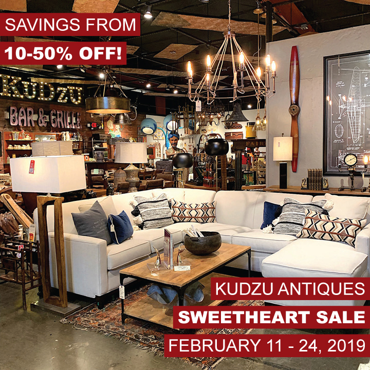 Kudzu's Storewide Sweetheart Sale!